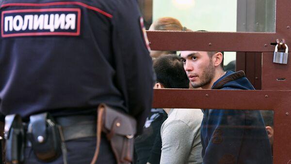 Заседание суда по делу о теракте в петербургском метро - Sputnik Ўзбекистон