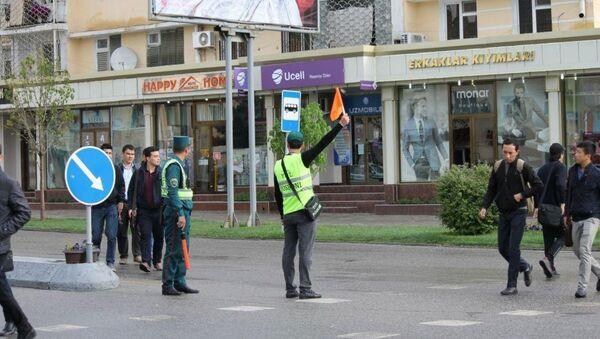 Инспекторам ДПС в Узбекистане помогут добровольцы - Sputnik Ўзбекистон