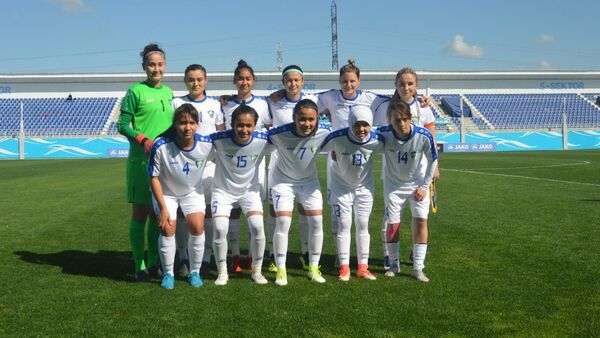 Женская олимпийская сборная Узбекистана - Sputnik Узбекистан