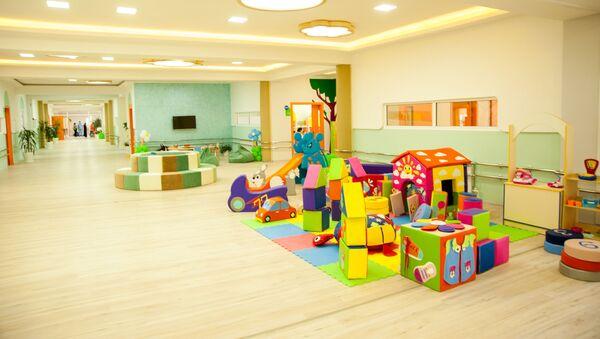 Первое в Узбекистане специализированное дошкольное учреждение с реабилитационным центром   - Sputnik Ўзбекистон