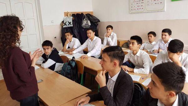 Урок в узбекской школе - Sputnik Ўзбекистон
