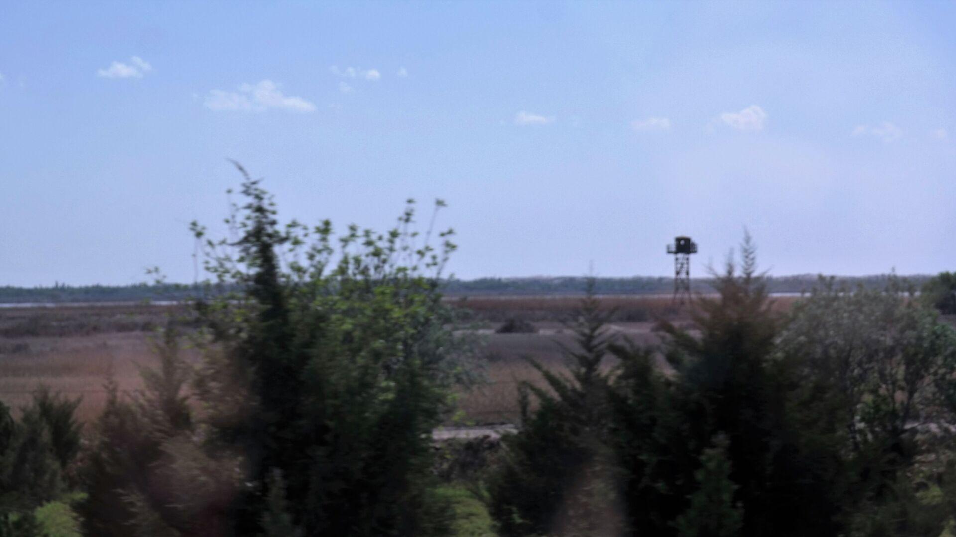 Город расположен на правом берегу реки Амударья, по которой проходит граница Республики Узбекистан с Исламской Республикой Афганистан. - Sputnik Ўзбекистон, 1920, 27.09.2021