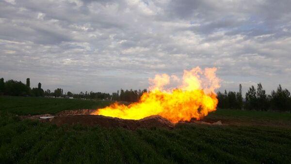 Новое газовое месторождение в Андижане - Sputnik Ўзбекистон
