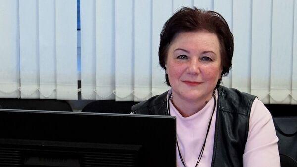 Начальник центра межрегиональных связей РГУ имени Есенина Ольга Воронова - Sputnik Узбекистан