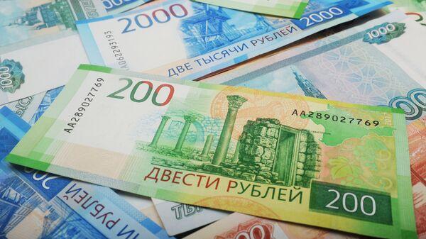 Российские банкноты  - Sputnik Узбекистан