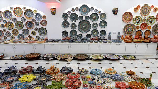 Proizvodstvo Rishtanskoy keramiki - Sputnik Oʻzbekiston