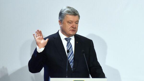 Президент Украины Петр Порошенко - Sputnik Узбекистан