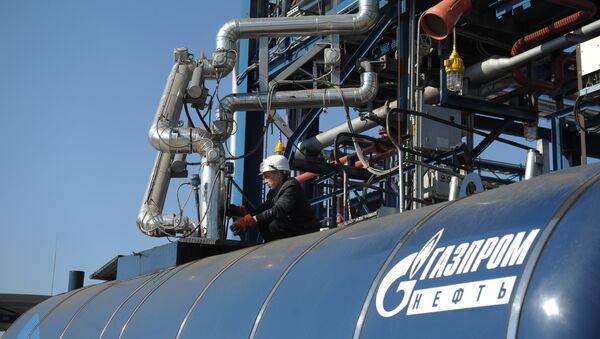 Объекты Московского НПЗ Газпром нефти - Sputnik Ўзбекистон