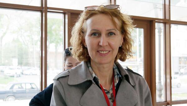 Koordinator aktsii Totalnыy diktant v Tashkente Natalya Nikolskaya - Sputnik Oʻzbekiston