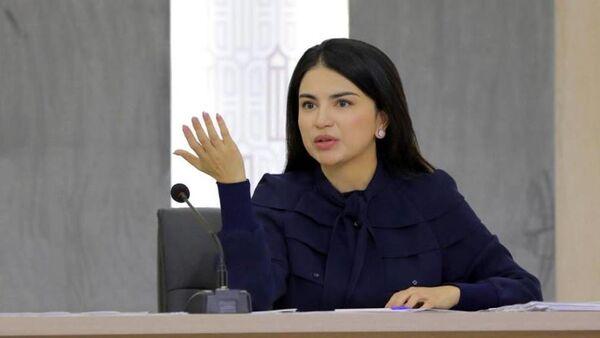Старшая дочь президента Узбекистана Саида Мирзиёева - Sputnik Узбекистан