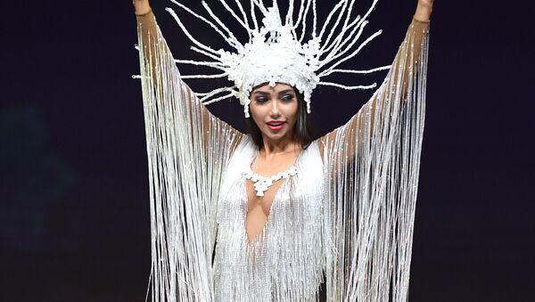 Победительница конкурса красоты Мисс Боливия — 2018 Джойс Прадо - Sputnik Ўзбекистон