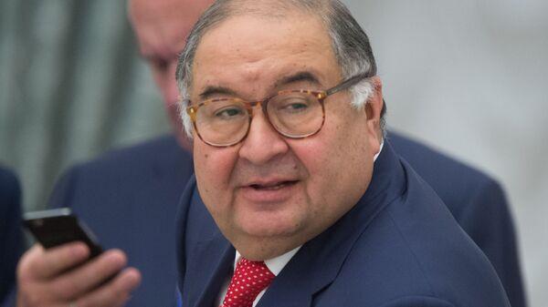 Алишер Усманов - Sputnik Узбекистан