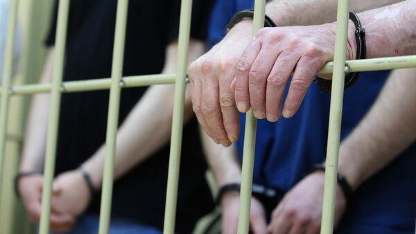 Задержание подозреваемых в совершении преступления - Sputnik Ўзбекистон