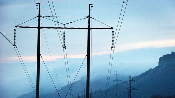 Ситуация с энергоснабжением Крыма - Sputnik Узбекистан