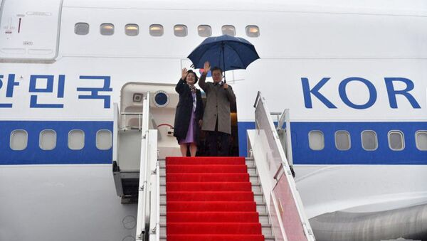 Государственный визит Президента Республики Корея Мун Чжэ Ина в Узбекистан  - Sputnik Ўзбекистон