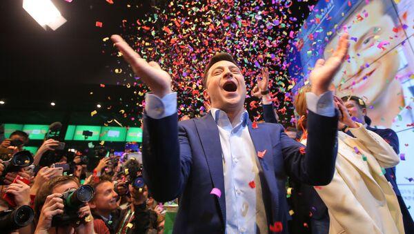 Второй тур выборов президента Украины - Sputnik Ўзбекистон