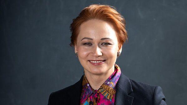 Direktor Instituta professionalnogo kadrovika Valentina Mitrofanova  - Sputnik Oʻzbekiston