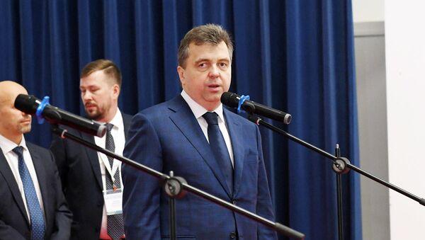 Первый заместитель министра промышленности и торговли РФ Сергей Цыб - Sputnik Узбекистан