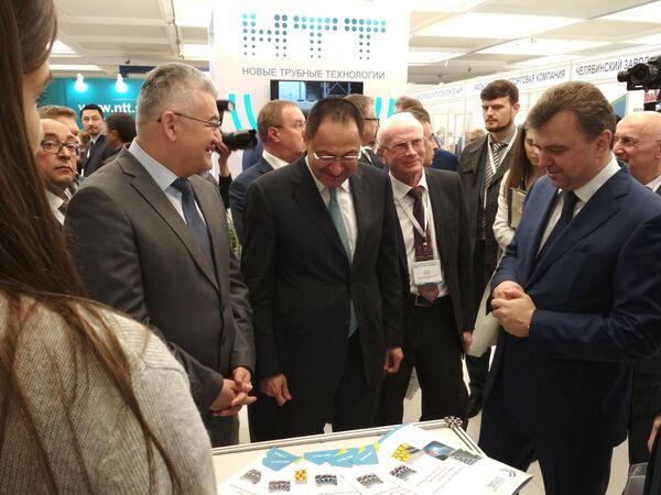 Проекты на 600 миллионов долларов: итоги первого дня Expo-Russian Uzbekistan - Sputnik Узбекистан