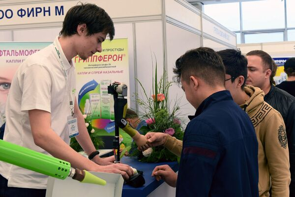 Промышленная выставка Expo-Russia Uzbekistan 2019   - Sputnik Узбекистан
