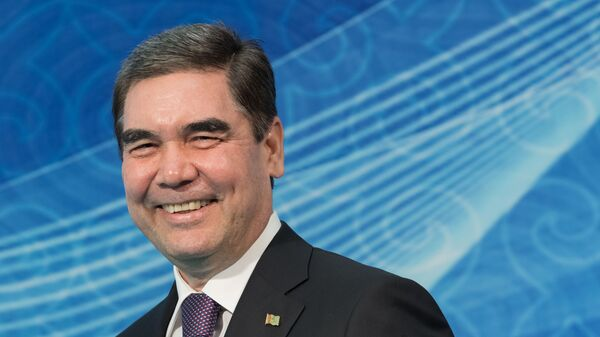 Президент Туркменистана Гурбангулы Бердымухамедов - Sputnik Узбекистан