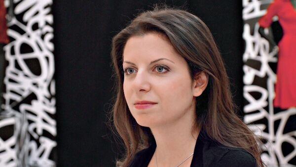 Главный редактор телеканала RT и МИА Россия сегодня Маргарита Симоньян. - Sputnik Узбекистан