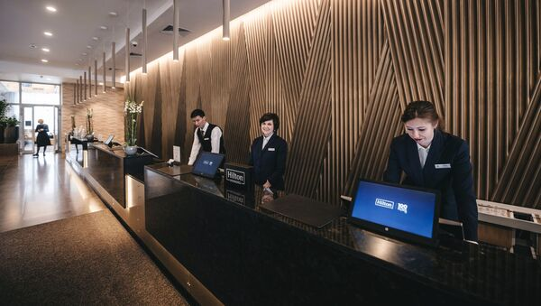 Менеджеры отеля - Sputnik Узбекистан