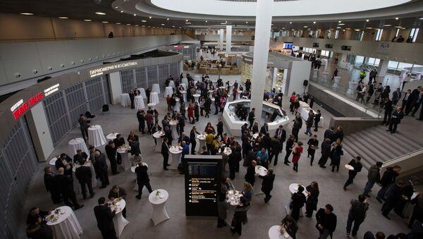 Терминал аэропорта Пулково-1 в Санкт-Петербурге - Sputnik Узбекистан