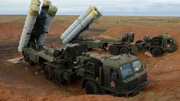 Зенитные ракетные системы С-400 Триумф - Sputnik Ўзбекистон
