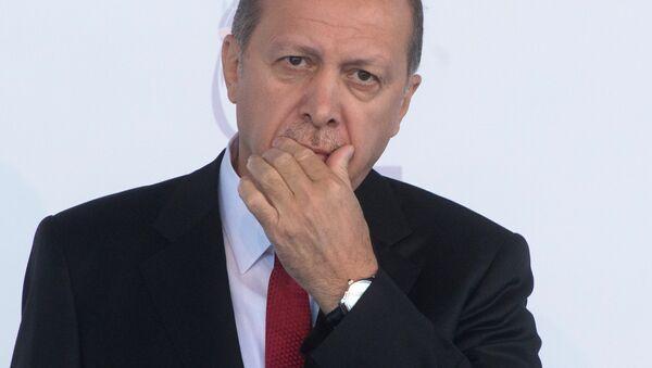 Президент Турции Тайип Эрдоган - Sputnik Узбекистан