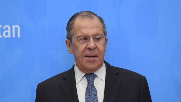Министр иностранных дел России Сергей Лавров - Sputnik Узбекистан