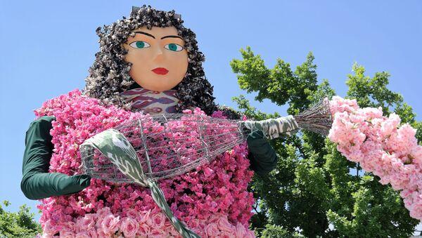 В столице Узбекистана стартовало яркое событие в сфере ландшафтной культуры - первый международный Фестиваль ландшафтного искусства - Sputnik Ўзбекистон