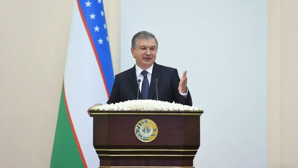 Президент Республики Узбекистан Шавкат Мирзиёев - Sputnik Узбекистан