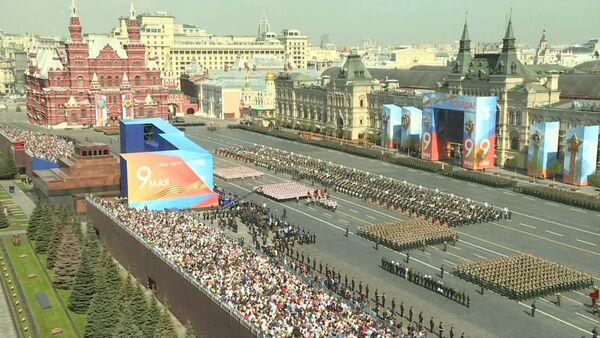 На Красной площади прошла генеральная репетиция парада ко Дню Победы - Sputnik Ўзбекистон