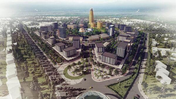 Студия дизайна Vertebra показала проект Bukhara City - Sputnik Узбекистан