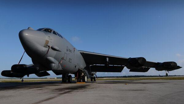 Strategicheskiy bombardirovщik Boeing B-52H Stratofortress - Sputnik Oʻzbekiston