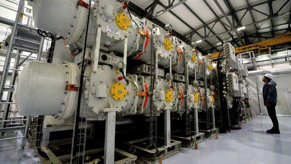 Комплект распределительных установок на ТЭЦ - Sputnik Узбекистан