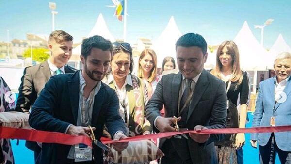Торжественное открытие павильона Узбекистана в Каннах - фото - Sputnik Узбекистан