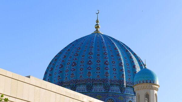 Один из куполов мечети Шейха Мухаммада Садыка Мухаммада Юсуфа - Sputnik Ўзбекистон