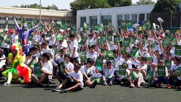 В Ташкенте прошёл фестиваль, посвящённый Дню детского футбола АФК - Sputnik Узбекистан