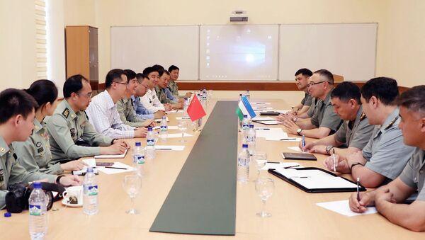 Военные Китая и Узбекистана - Sputnik Узбекистан