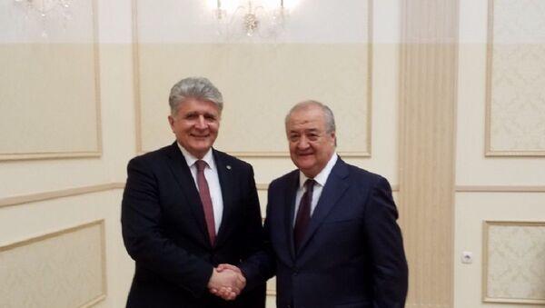 Абдулазиз Камилов встретился с помощником генсекретаря ООН - Sputnik Узбекистан
