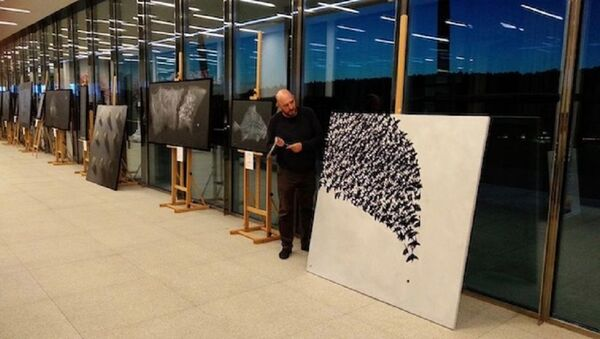 Выставка Бобура Исмаилова открылась в Москве - Sputnik Узбекистан