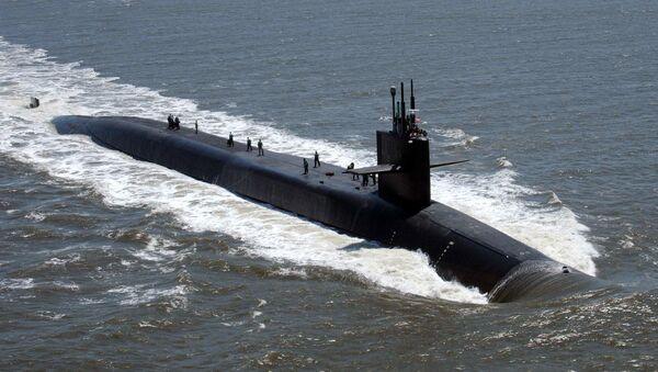 Субмарина USS Florida ВМС США - Sputnik Ўзбекистон