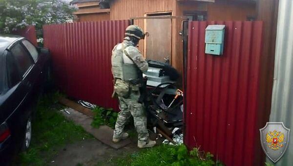 Контртеррористическая операция в городе Кольчугино Владимирской области. 22 мая 2019 - Sputnik Узбекистан