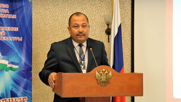 Rektor UzGUMYA Ganisher Raximov - Sputnik Oʻzbekiston