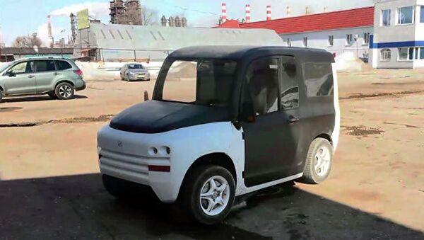 Prototip dlya dorojnыx testov dvigateley elektromobilya Zetta - Sputnik Oʻzbekiston