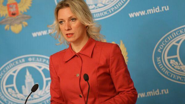 Rossiya TIV rasmiy vakili Mariya Zaxarova. - Sputnik Oʻzbekiston