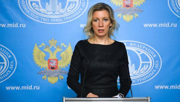 Мария Захарова - Sputnik Ўзбекистон
