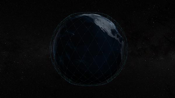 Сетка спутников Starlink  - Sputnik Ўзбекистон